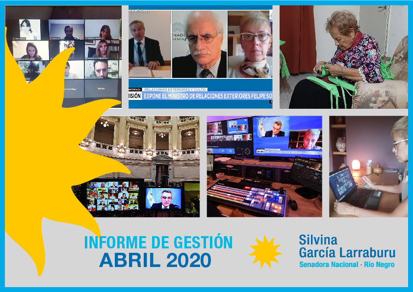 Informe mensual Abril 2020